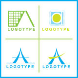 Vector corporate Logos Royalty Free Stock Images