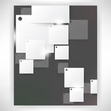 Vector corporate theme background Royalty Free Stock Photography