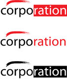 Vector Corporation Logo Royalty Free Stock Images