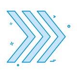 Vector correcto del diseño del icono libre illustration