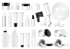 Vector Cosmetic Container dummy Royalty Free Stock Photo