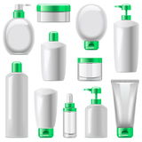 Vector Cosmetic Packaging Icons Set 13 Stock Photo