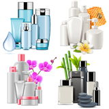 Vector Cosmetic Products Stock Photography
