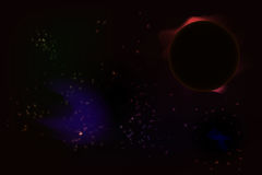 Vector cosmos  Royalty Free Stock Images