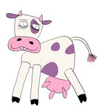 Vector cow Royalty Free Stock Photos