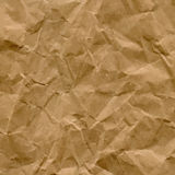 Vector Craft Recycled Crumpled Paper Texture Royalty Free Stock Photos
