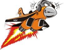 Vector Crazy Jet Royalty Free Stock Photo