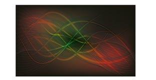 Vector Creatieve Golf Kleurrijke Achtergrond Royalty-vrije Stock Afbeelding