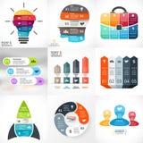 Vector creative arrows infographics. Template for Stock Photos