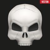 Vector Creative Human skull Stock Image