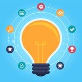 Vector creative idea infographic Stock Photos