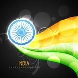 Vector creative indian flag Stock Photography