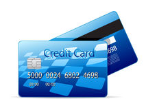 Vector credit card Royalty Free Stock Image