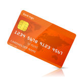 Vector credit card Stock Photography