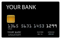Vector Credit Card Royalty Free Stock Photo