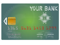Vector Credit Card royalty free illustration