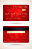 Vector Creditcard Royalty-vrije Illustratie