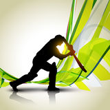 Vector cricket background Stock Photo