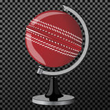 Vector criket. Criket globe isolated over transparent background. Vector illustration. Vector criket. Criket globe isolated over transparent background Royalty Free Stock Image