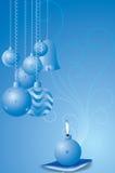 Vector cristmaskaarsen Royalty-vrije Stock Foto