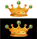 Vector crown Royalty Free Stock Photo