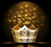 Vector crown background Stock Photo