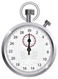 Vector crown stopwatch Stock Image