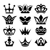 Vector crowns Royalty Free Stock Photos