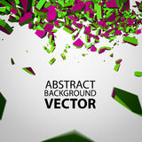 Vector Crushed Element. Stock Images