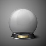 Vector crystal ball for fortune tellers Stock Photos