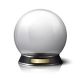 Vector crystal ball for fortune tellers Royalty Free Stock Images