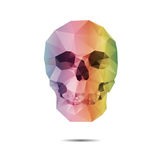 Vector crystal skull Stock Photography