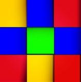 Vector cube design background Stock Photos