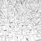 Vector cube figures Stock Photos