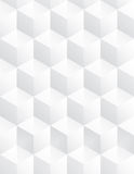 Vector cube gray background pattern Stock Images