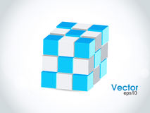 Vector cube for infographic design, you can change Royalty Free Stock Photography