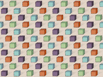 Vector Cube Pattern Royalty Free Stock Image