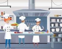 Vector culinario del negocio de restaurante del ejemplo del concepto stock de ilustración