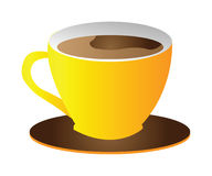 Vector cup of coffee Stock Photo