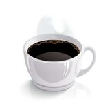 Vector cup of coffee Royalty Free Stock Photos