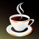 Vector cup of coffee Royalty Free Stock Image