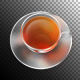 Vector Cup of Tea Royalty Free Stock Photo