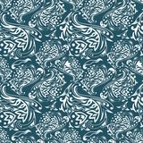 Vector curles pattern Stock Image
