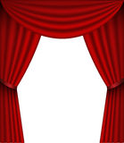 Vector Curtain Royalty Free Stock Photo