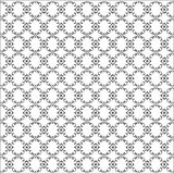 Vector curved seamless pattern Royalty Free Stock Photos