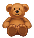 Vector of cute bear. Royalty Free Stock Images