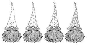 Free Vector  Cute Gnomes Cartoons. Stock Photo - 165729400