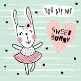 Sweet bunny Stock Photography