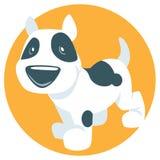 Vector cute puppy Stock Image