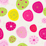 Seamless cute floral romantic background Stock Photos